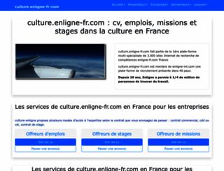 culture.enligne-fr.com screenshot