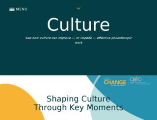 culture.geofunders.org screenshot