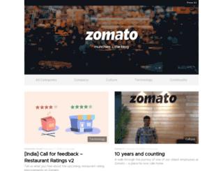 culture.zomato.com screenshot