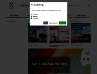culture360.org screenshot