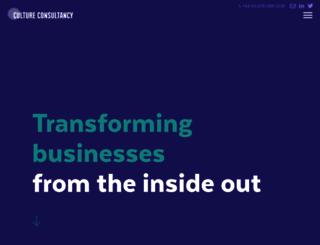cultureconsultancy.com screenshot