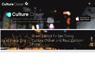 culturecraver.com screenshot