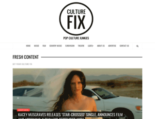 culturefix.co.uk screenshot