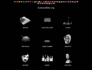 culturesite.org screenshot