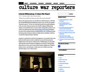 culturewarreporters.com screenshot