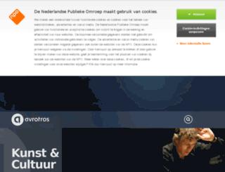 cultuurgids.avro.nl screenshot