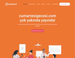 cumartesigecesi.com screenshot