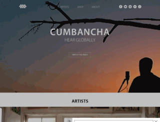 cumbancha.com screenshot