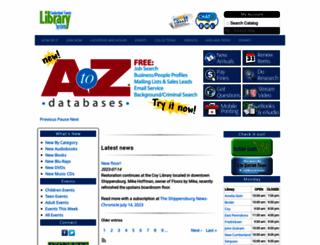cumberlandcountylibraries.org screenshot