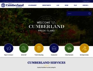 cumberlandri.org screenshot