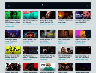 cumbiamasflow.net screenshot