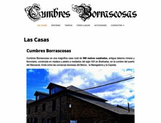 cumbresborrascosas.net screenshot