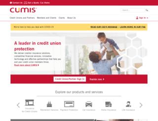 cumis.com screenshot