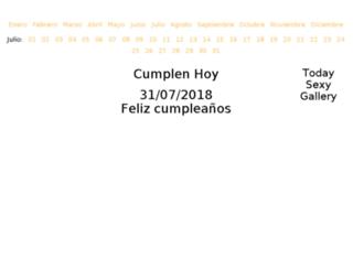 cumplenhoy.com screenshot