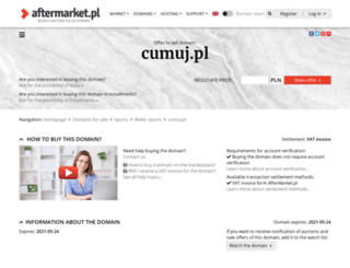 cumuj.pl screenshot