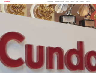 cundari.com screenshot