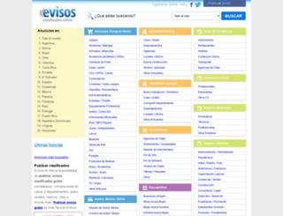 cundinamarca.evisos.net screenshot