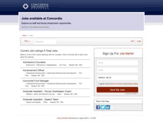 cune.applicantpro.com screenshot
