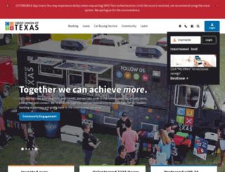 cuoftexas.org screenshot
