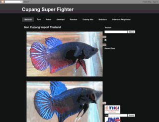 cupangsuperfighter.blogspot.com screenshot