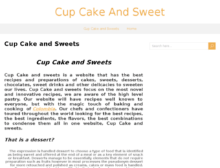 cupcakeandsweet.net screenshot