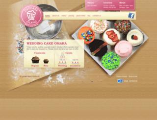 cupcakeisland.com screenshot