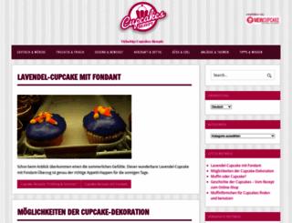 cupcakes-rezept.de screenshot
