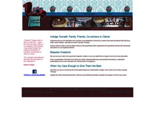 cupcaketherapy.com.au screenshot