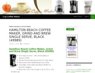 cupcoffeemaker.biz screenshot