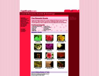 cupidecards.com screenshot