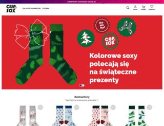 cupofsox.com screenshot