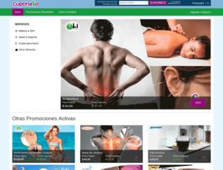 cuponaso.com screenshot