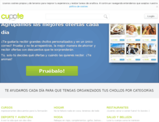 cupote.com screenshot