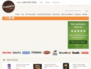 cuppaco.com screenshot