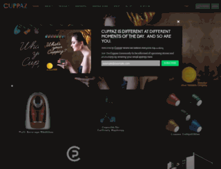 cuppaz.com screenshot