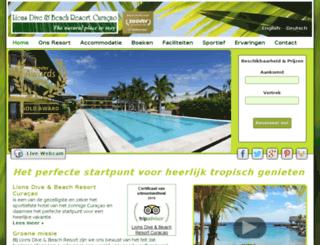 curacao-lionsdive.com screenshot