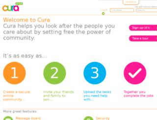curahq.com screenshot