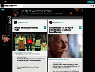 curation.masternewmedia.org screenshot