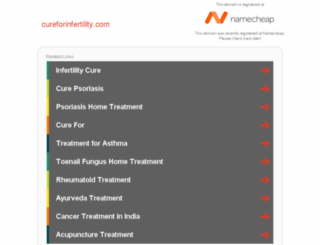 cureforinfertility.com screenshot