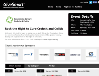 cureibd.auction-bid.org screenshot