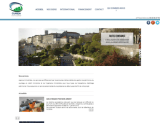 curien-immobilier.com screenshot