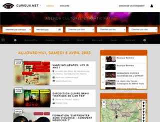 curieux.net screenshot