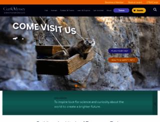 curiodyssey.org screenshot