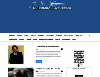 curiosidadescuriosas.com screenshot
