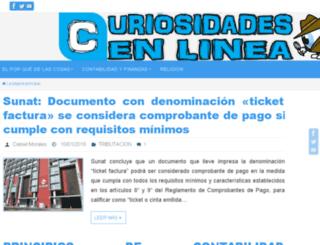 curiosidadesenlinea.com screenshot