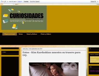 curiosidadesparacompartirymas.blogspot.com screenshot