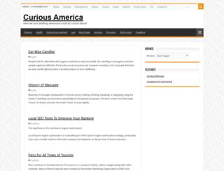 curiousamerica.com screenshot