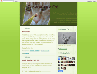 curiousasacat.blogspot.com screenshot