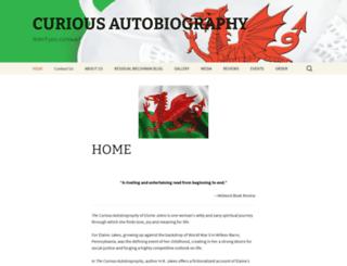 curiousautobiography.com screenshot