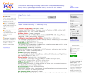 curiousfox.com screenshot